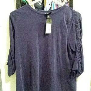 Massimo, size S, purple long sleeve shirt.